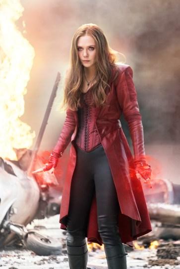 Marvel's Captain America: Civil War Scarlet Witch/Wanda Maximoff (Elizabeth Olsen) Photo Credit: Zade Rosenthal © Marvel 2016