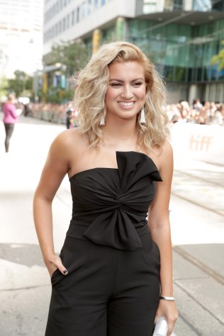 "Tori Kelly seen at Universal Pictures ""Sing"" at the 2016 Toronto International Film Festival on Sunday, Sept. 11, 2016, in Toronto. (Photo by Eric Charbonneau/Invision for Universal Pictures/AP Images)"