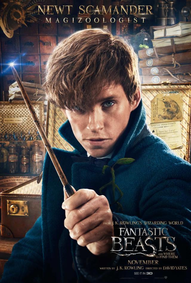 Fantastic Beasts - Newt Scamander Poster.png