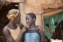 Oscar (TM) winner Lupita Nyong'o and newcomer Madina Nalwanga in Disney's QUEEN OF KATWE, the vibrant true story of a young girl from rural Uganda whose world rapidly changes when she is introduced to the game of chess. The powerful film also stars David Oyelowo and is directed by Mira Nair.