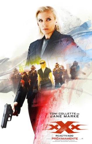 Tony Collette es Jane Marke en 'xXx: Reactivado'