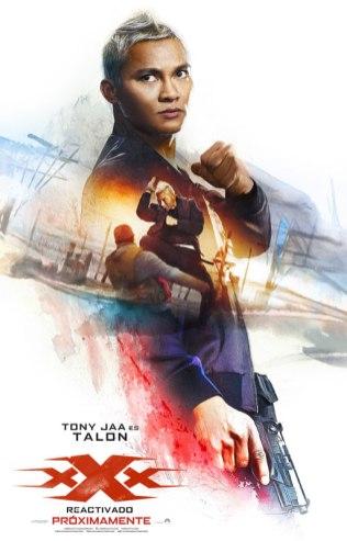 Tony Jaa es Talon en 'xXx: Reactivado'