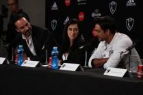 Netfilx Club de Cuervos S2, Press Conference 2016/Antonio de la Vega, Mariana Treviño, Joaquin Ferreira/Photographer-Federico García.