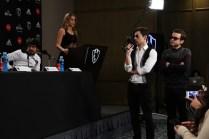 Netfilx Club de Cuervos S2, Press Conference 2016/Juan Pablo de Santiago, Inés Sainz, Luis Gerardo Mendez, Jesus Zavala/Photographer-Federico García.