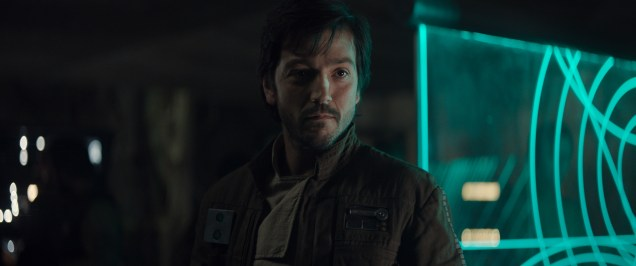 Rogue One: A Star Wars Story..Cassian Andor (Diego Luna)..Ph: Film Frame ILM/Lucasfilm..© 2016 Lucasfilm Ltd. All Rights Reserved.