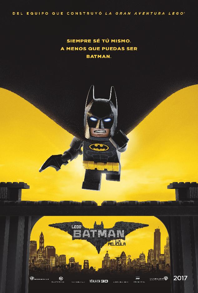 LEGO Batman póster