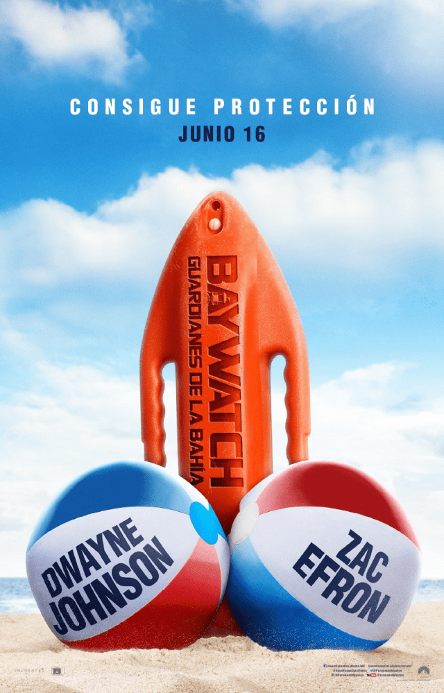 Baywatch 2017 MX Poster