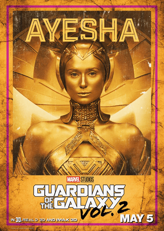 Guardians of the Galaxy Vol 2 - US Ayesha Posters Personajes