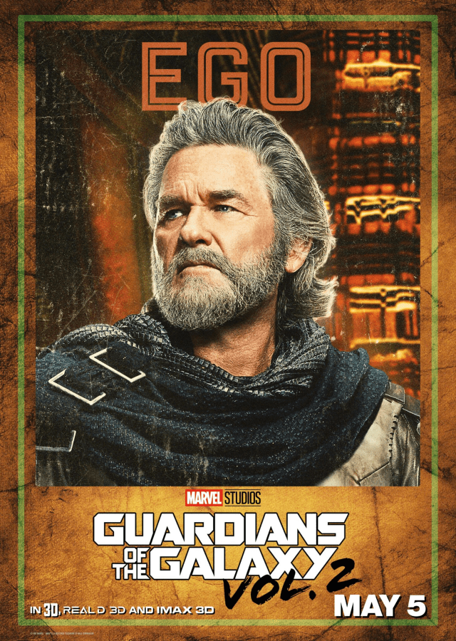 Guardians of the Galaxy Vol 2 - US Ego Posters Personajes