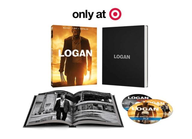 Logan US Target Blu-ray Digibook