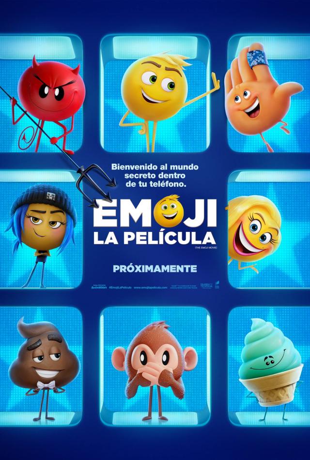 The Emoji Movie MX Poster 1