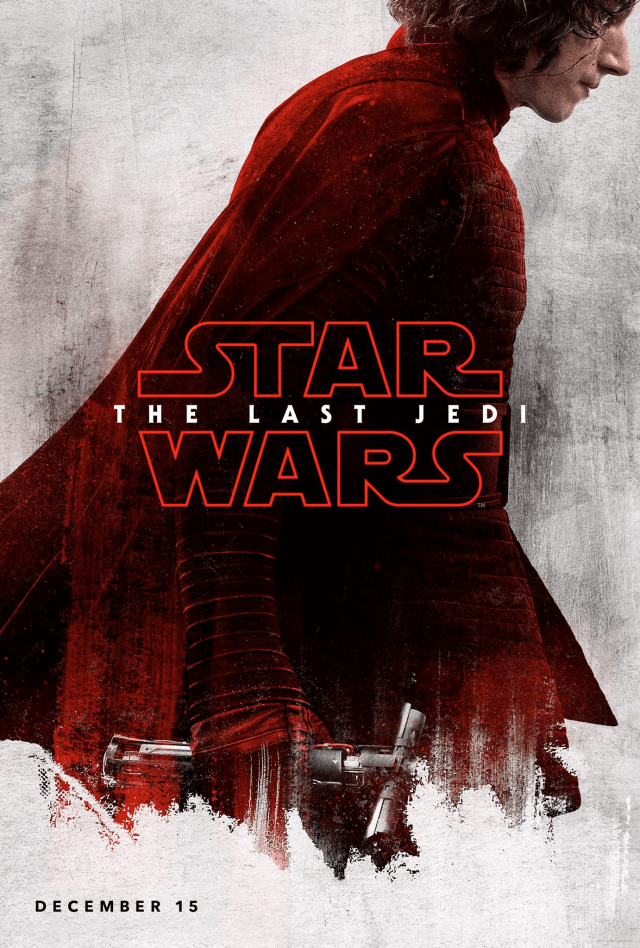 Star Wars The Last Jedi D23 Kylo Ren Poster