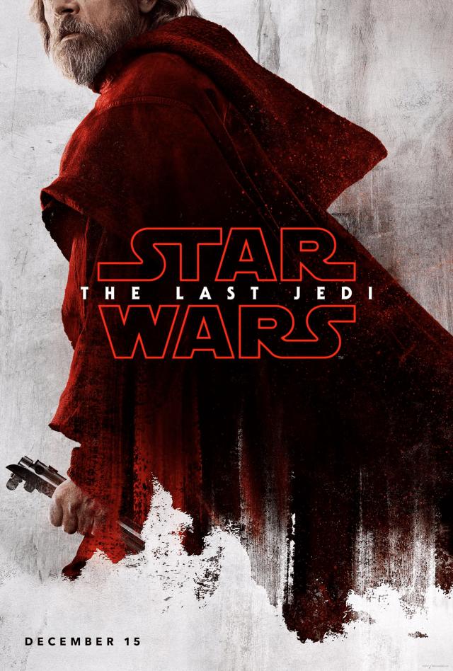 Star Wars The Last Jedi D23 Luke Poster