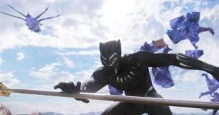 Marvel Studios' BLACK PANTHER Black Panther (Chadwick Boseman) Ph: Film Frame ©Marvel Studios 2018