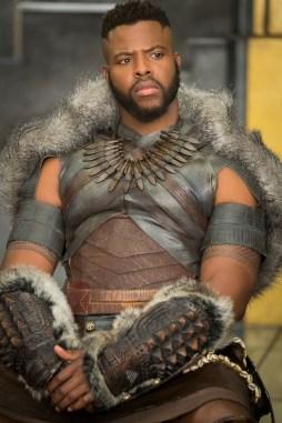Marvel Studios' BLACK PANTHER M'Baku (Winston Duke) Ph: Matt Kennedy ©Marvel Studios 2018