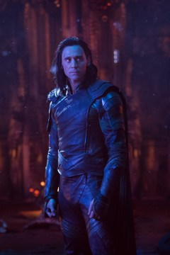 Marvel Studios' AVENGERS: INFINITY WAR..Loki (Tom Hiddleston)..Photo: Chuck Zlotnick..©Marvel Studios 2018