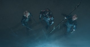 Marvel Studios' AVENGERS: INFINITY WAR..L to R: Black Widow/Natasha Romanoff (Scarlett Johansson), Falcon/Sam Wilson (Anthony Mackie), and Captain America/Steve Rogers (Chris Evans)..Photo: Film Frame..©Marvel Studios 2018