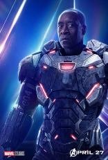 posters individuales avengers infinity war war machine