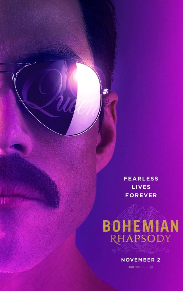 queen bohemian rhapsody poster trailer oficial