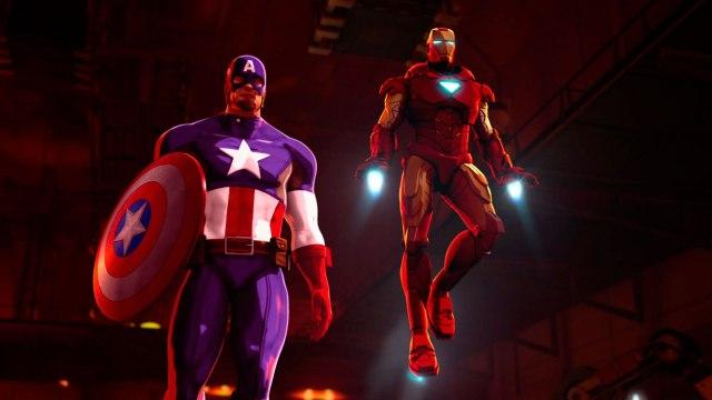 Marvel - Iron Man y Capitán América_ Héroes unidos