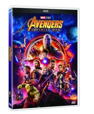 PACK 3D DVD AVENGERS INFINITY WAR