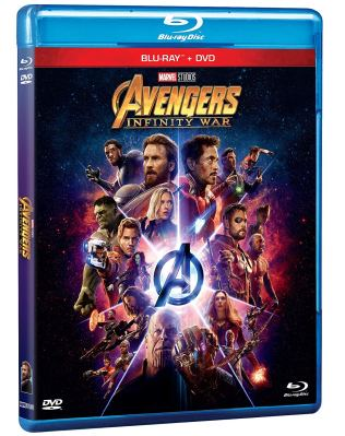 Pack Blu ray dvd avengers Infinity War