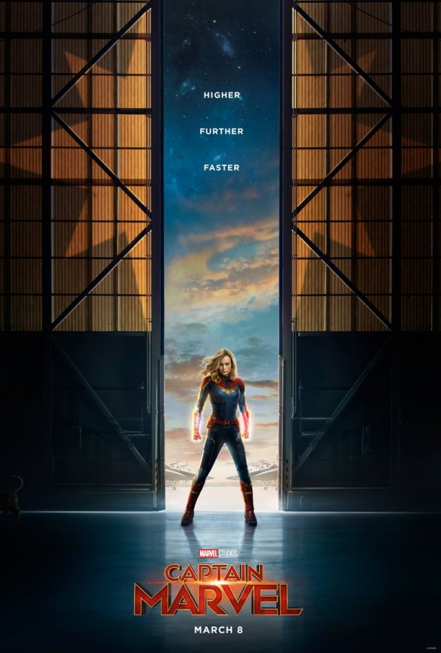 poster captain marvel esconde personaje