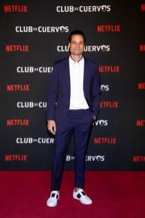 Club de Cuervos Season 4 Premiere Party, Mexico, January 15th 20