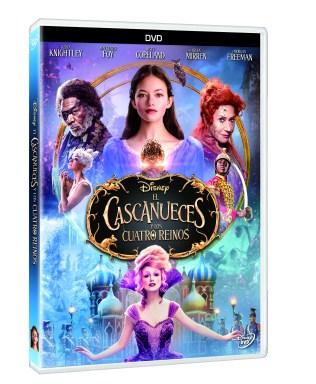 PACK 3D DVD EL CASCANUECES Y LOS CUATRO REINOS