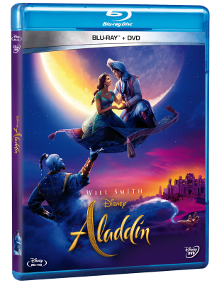 PACK BLU RAY+DVD ALDDIN LIVE ACTION