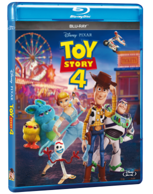 PACK BLU RAY TOY STORY 4