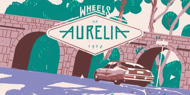 ilustración del videojuego wheels of aurelia