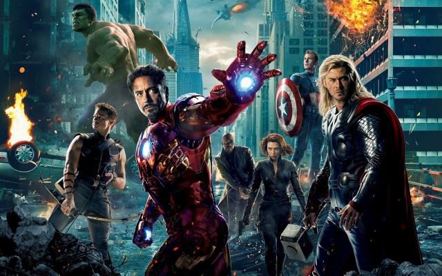 imagen promocional de avengers los vengadores película de 2012