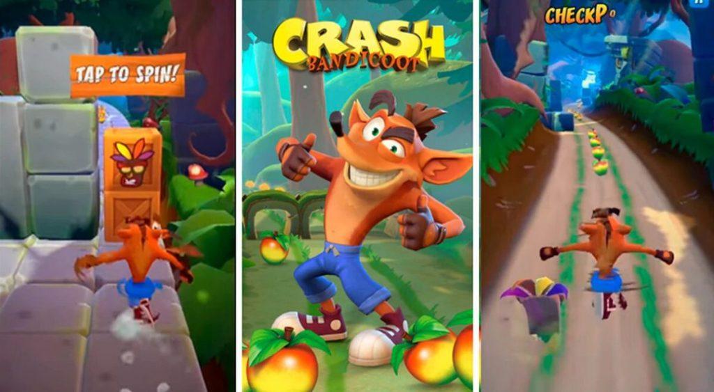 imágenes de crash bandicoot mobile