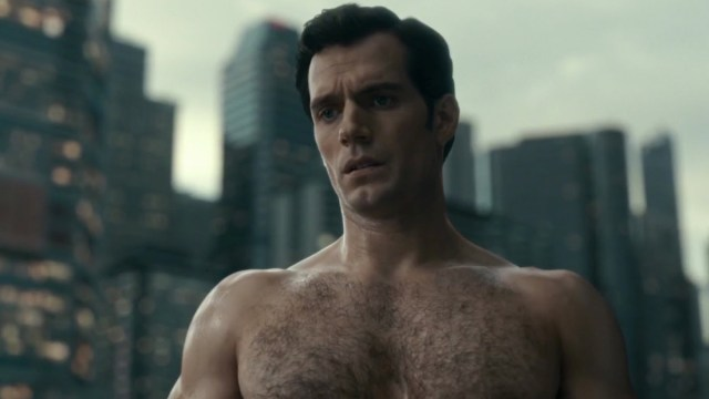 henry cavill en liga de la justicia como superman