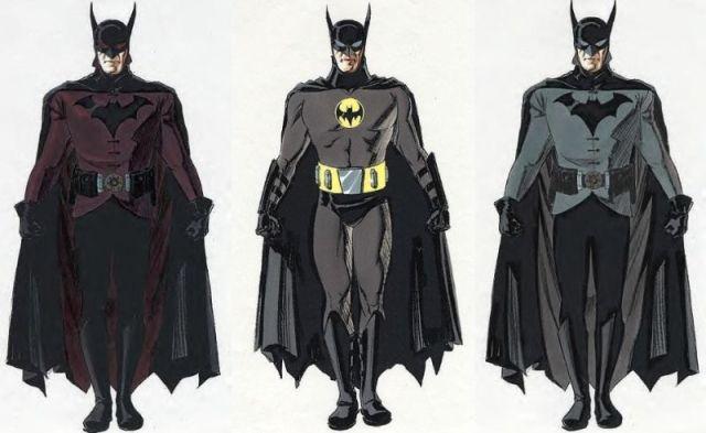 conceptos de la película de batman de darren aronofsky