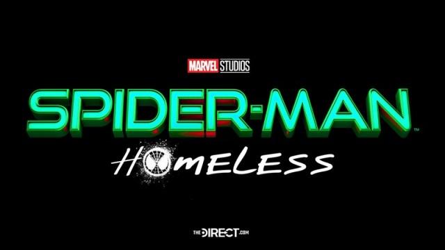 logo título spider man 3 homeless