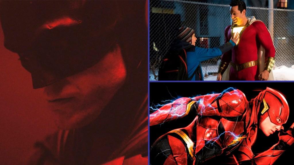 The Batman, Shazam y Flash