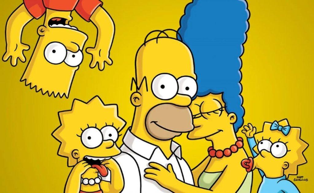 imagen de personajes de los simpson