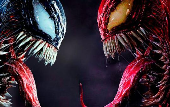 ilustración de venom y carnage