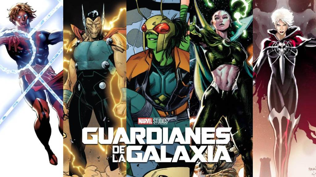 imagen de nuevos integrantes de guardianes de la galaxia
