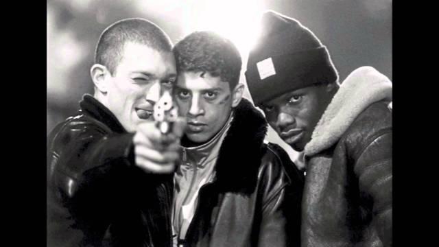 imagen de la película la haine el odio