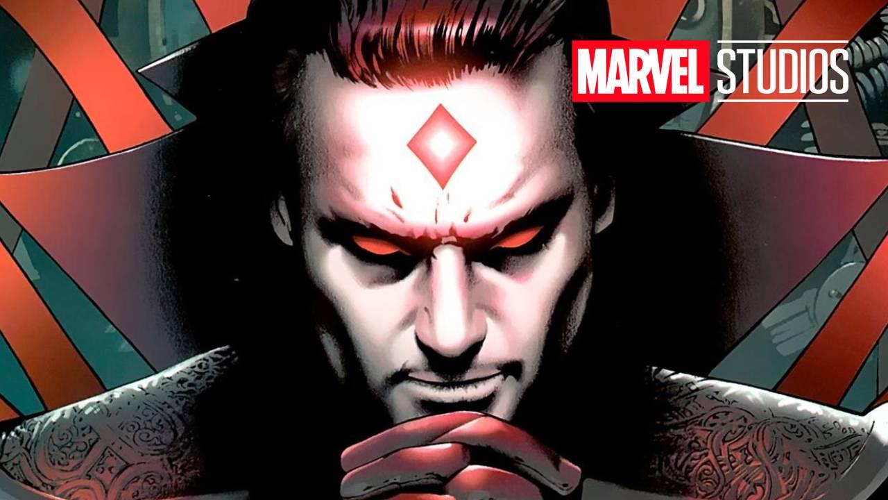 Ilustración de Mister Sinister con logo de Marvel Studios
