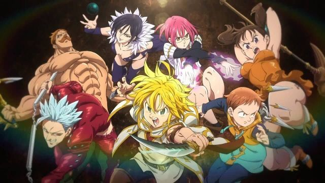 Serie anime The Seven Deadly Sine temporada cuatro en Netflix