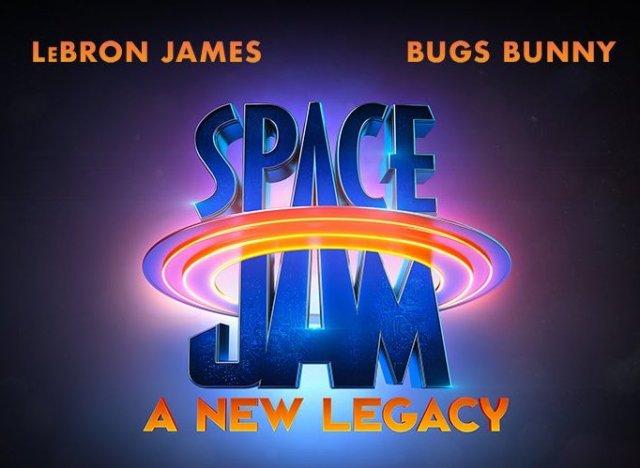 logo de space jam 2 a new legacy