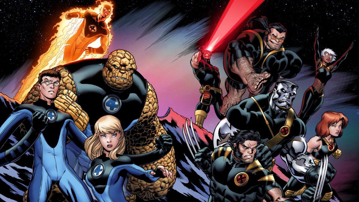 Imagen de Los Cuatro Fantástico y X-Men
