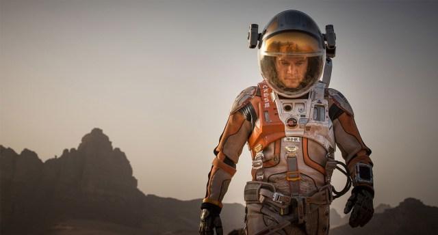 escena de The Martian, Misión rescate