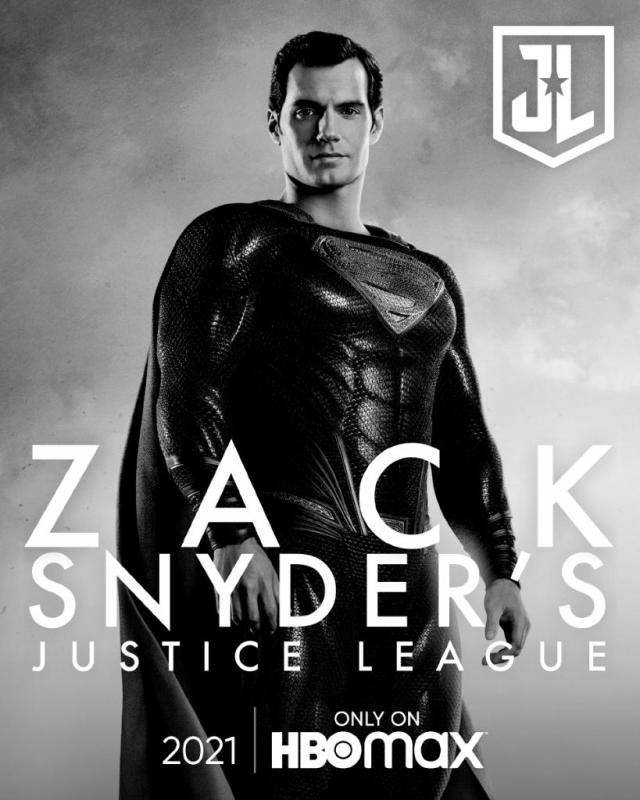 póster oicial snyder cut justice league superman