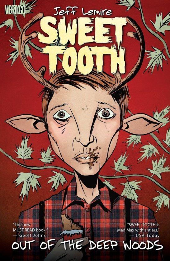 portada de cómic sweet tooth