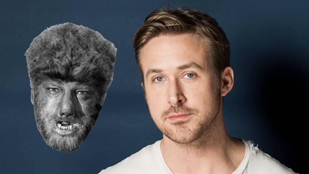Ryan Gosling como El hombre lobo de Universal Pictures